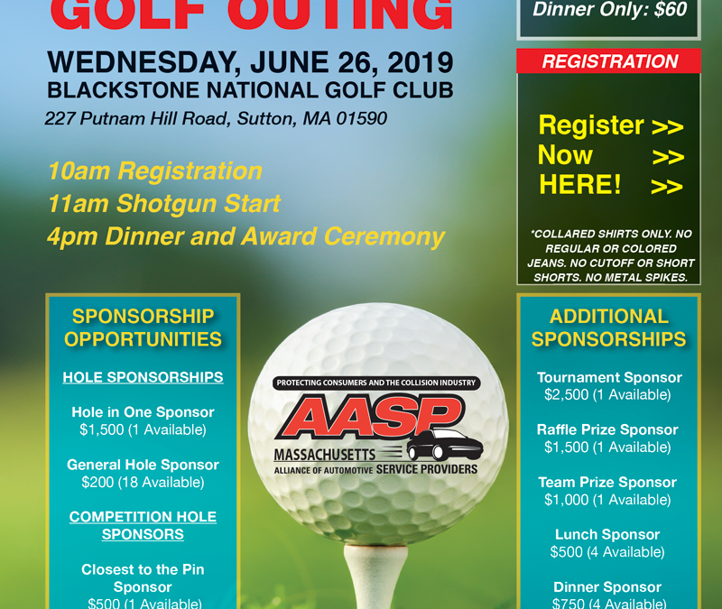 2019 AASP/MA Golf Outing