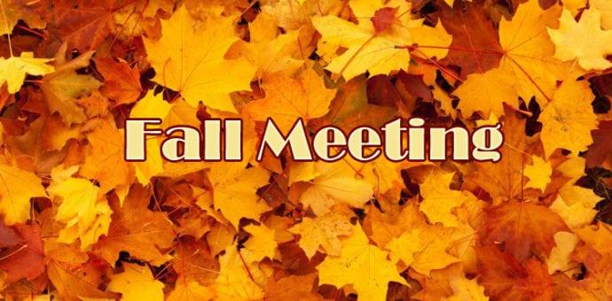 General Membership Meeting November 2021